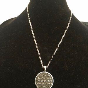 Necklace Phillipians 4:13